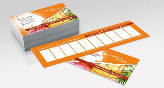 Bonuskarte, Visitenkarte