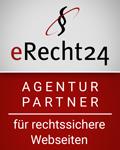 erecht24-siegel-agenturpartner-rot